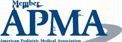 american podiatric medical association logo