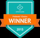 patients choice award 2015