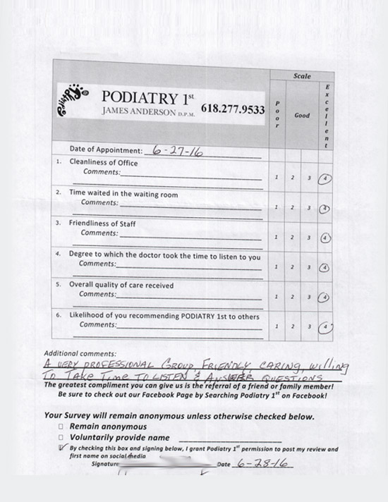 podiatry 1st reviews 7
