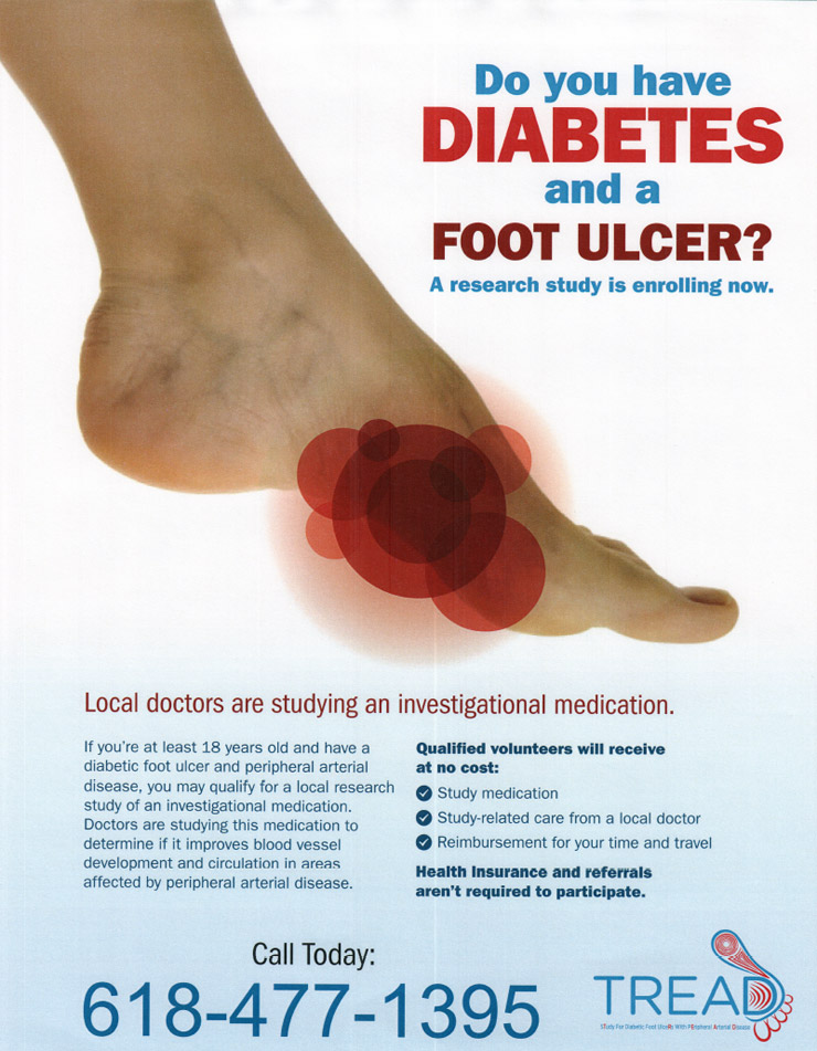 diabetic foot care and ulcer research in belleville il