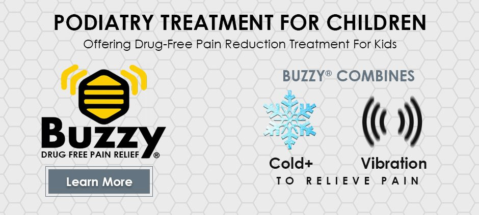 podiatry-1st-treatment-for-children-using-buzzy